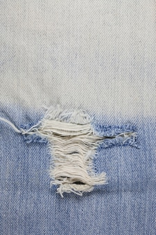 Torn denim jeans texture