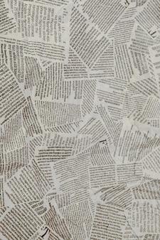 Разорванный газетный фон