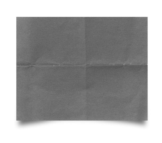 찢어진된 종이 흰색 배경에 고립