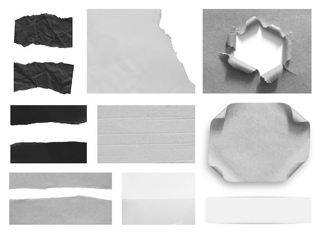 Рваная бумага текстуры фона с копией пространства для текста
