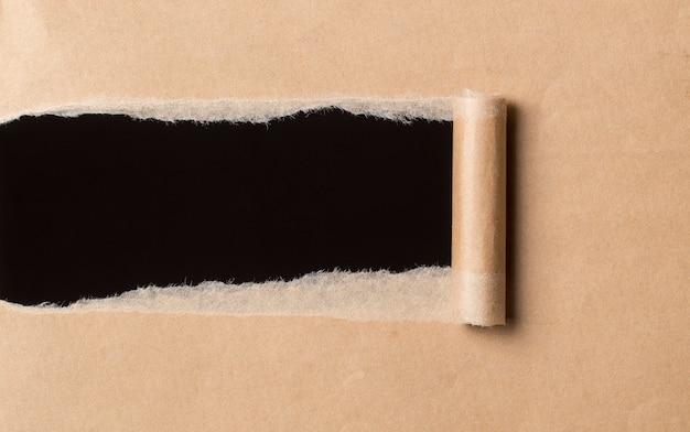 Текстура рваной бумаги