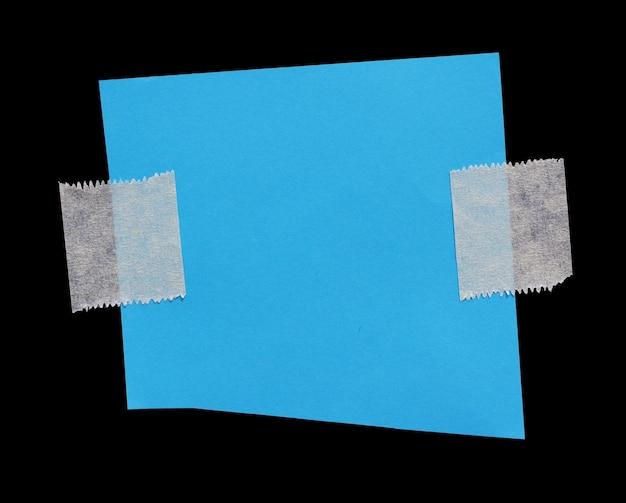 あなたのメッセージのための粘着テープスペースのある破れた紙あなたのmのための粘着テープスペースのある破れた紙