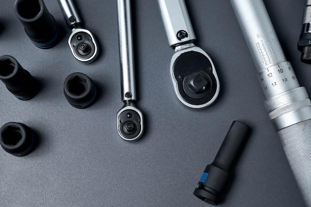 Набор динамометрических ключей или гаечных ключей инструменты для ремонта автомобилей для профессионального или самостоятельного ремонта автомобилей