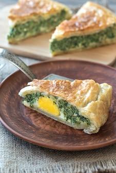Torta pascualina - spinach and ricotta tart