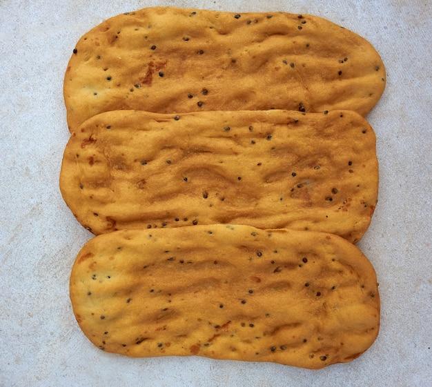 Tortas de canamones bread from la mancha