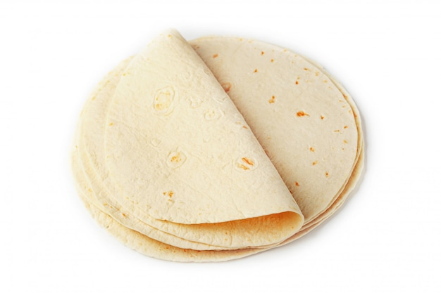 Tortilla . corn tortilla or simply tortilla is a type of thin unleavened bread made from hominy.