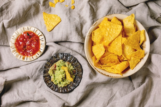 Tortilla nachos chips