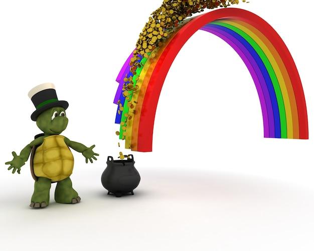 Tortoise earning money