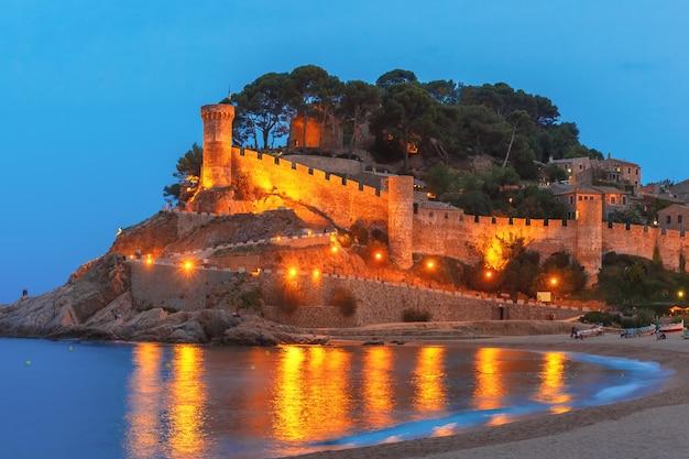 スペイン、カタルーニャ、コスタブラバのトッサデマール