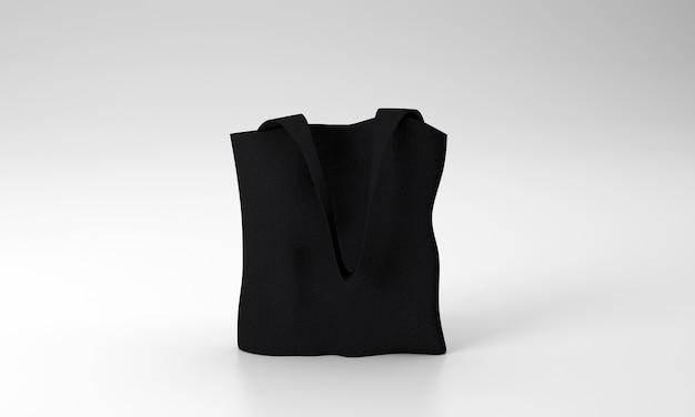 Мокап холщовой сумки tote