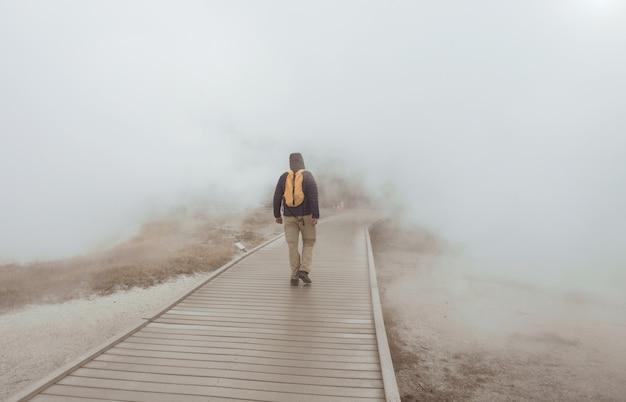 イエローストーン国立公園、アメリカの観光客