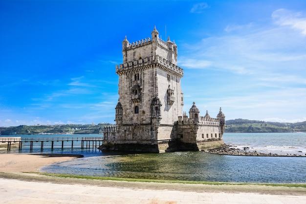 Tower of belã©n - lisbon, portugal.