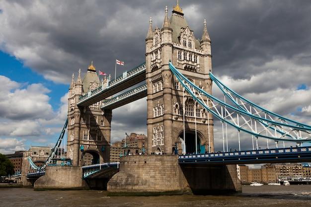 Tower bridge in london, great britain.