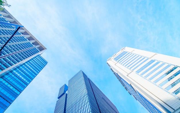 타워 현대 아름 다운 스카이 라인 자본
