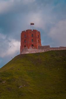 リトアニア、ビリニュスのゲディミナスの塔