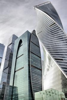 Башни города москвы, россия