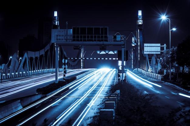 Città città costruzione dusk moderna