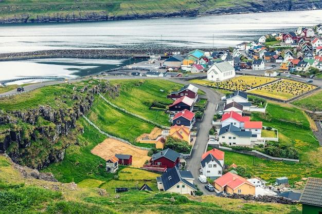 Город на фарерских островах