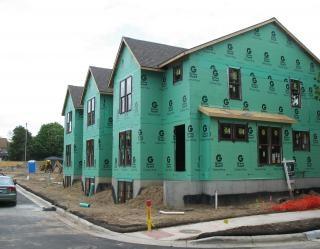 Townhouse construction