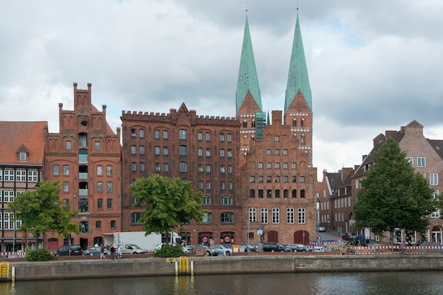 Townscape of lubeck