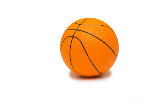 Toy basketball isolated