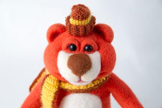 Toy teddy.. handmade felt