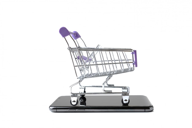 Toy trolley cart