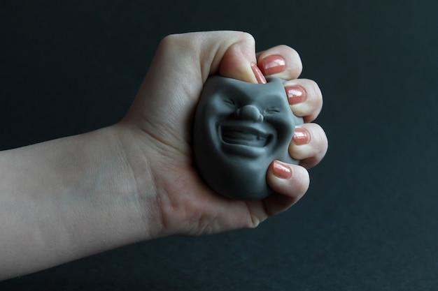 Удивительная забавная силиконовая игрушка-антистресс в руки .toy для развития ручного мотора