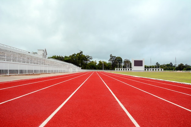 Track and running