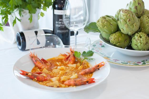 Tradicion menu food arroz rice
