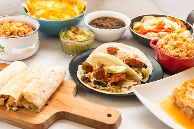 Традиционная мексиканская еда