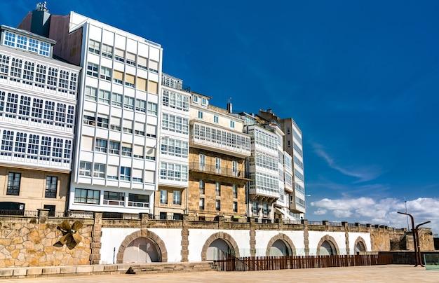 ア・コルーニャの伝統的な建築