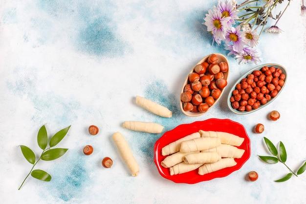 전통적인 아제르바이잔 휴일 novruz 과자 mutaki.