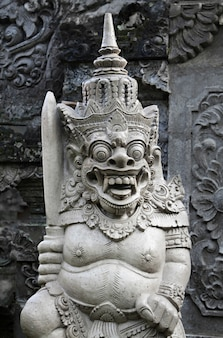 Traditional balinese monster