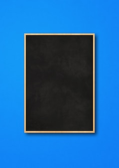 Traditional black board isolated