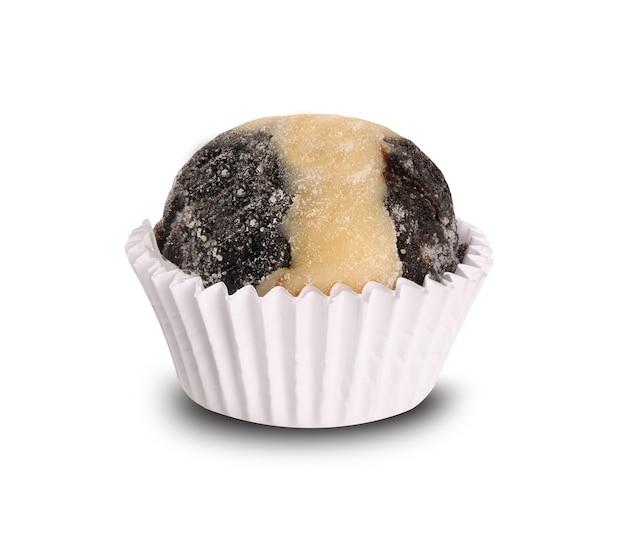 伝統的なブラジルの甘い-チョコレート准将と甘い白。