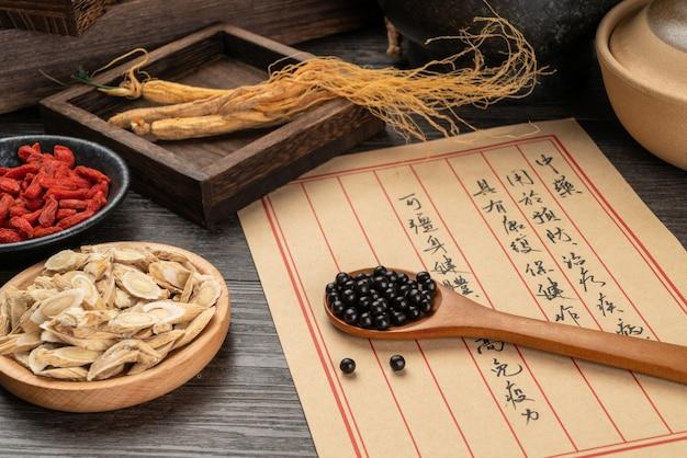 Таблетки традиционной китайской медицины и медицинские книги