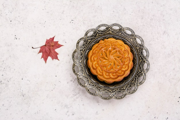 Традиционный китайский лунный пирог