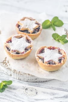 Traditional christmas pastries