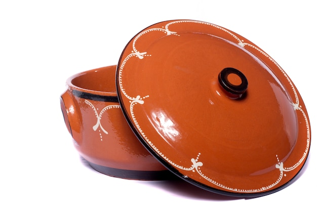 Traditional clay earthenware