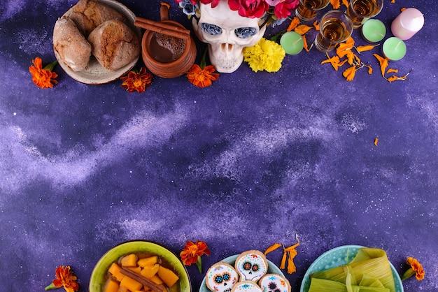 死んだ食べ物の伝統的な日