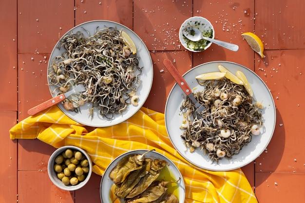 Tradizionale deliziosa composizione del piatto gulas