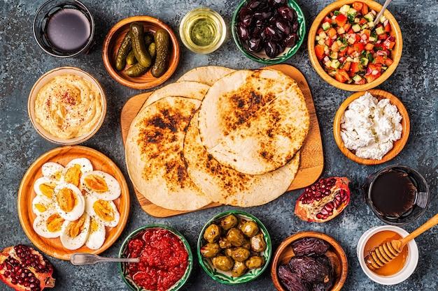 Традиционные блюда израильской и ближневосточной кухни