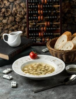 Dushbere tradizionale nel piatto
