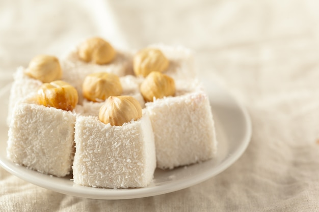 Traditional eastern desserts on the table