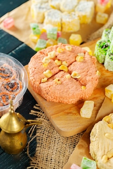 Traditional eastern desserts