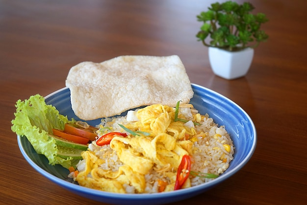 Traditional food from bandung, indonesia.