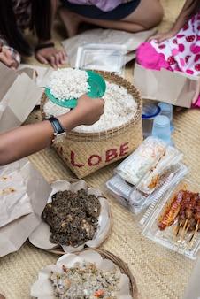 タナ・トラジャの伝統料理