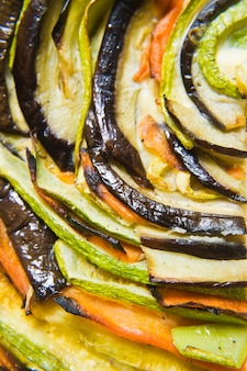 Traditional french ratatouille.