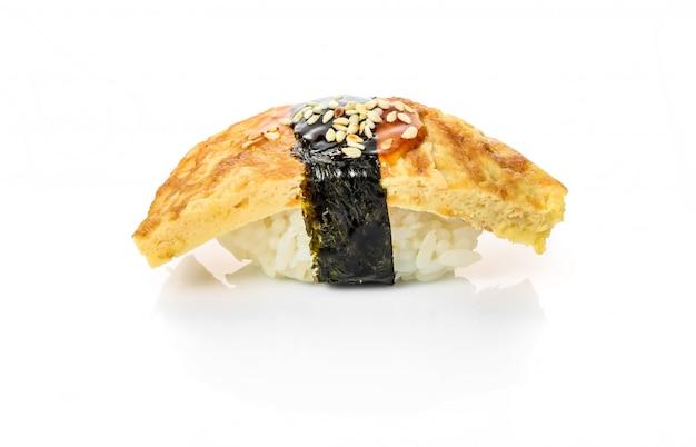 Traditional fresh japanese sushi rolls